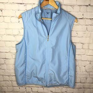 Ativa Golf Blue Zip Up Vest